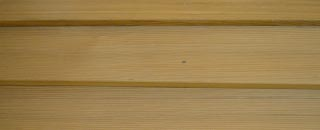 Clear Cedar Siding Swatch