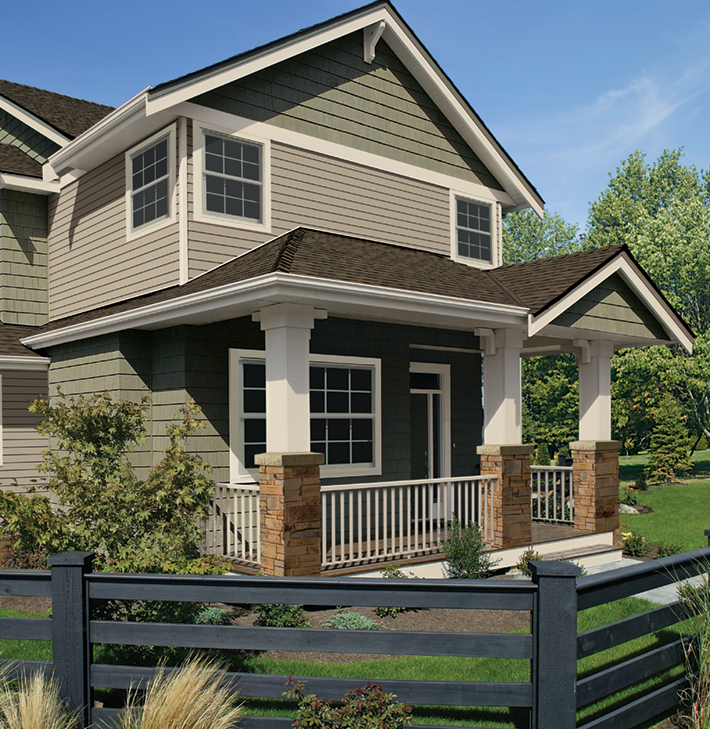 Market Square siding available at Riverhead Building Supply