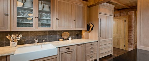 Rustic kitchen project by Riverhead Building Supply